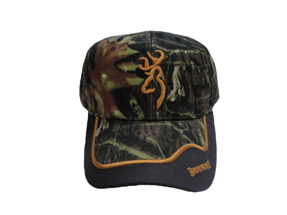 BROWNING Shooting Cap Mossy Oak Clay Pigeon Shooting Clays Hunting Decoying Hat